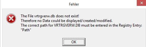 Why do I get following error messages at start of the program: